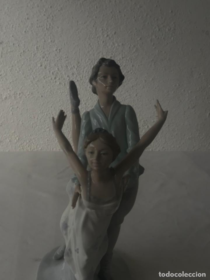 Antigüedades: Pareja de Bailarines Ballet - Porcelana Nao By Lladró, Daisa 1983 - Foto 8 - 257293555