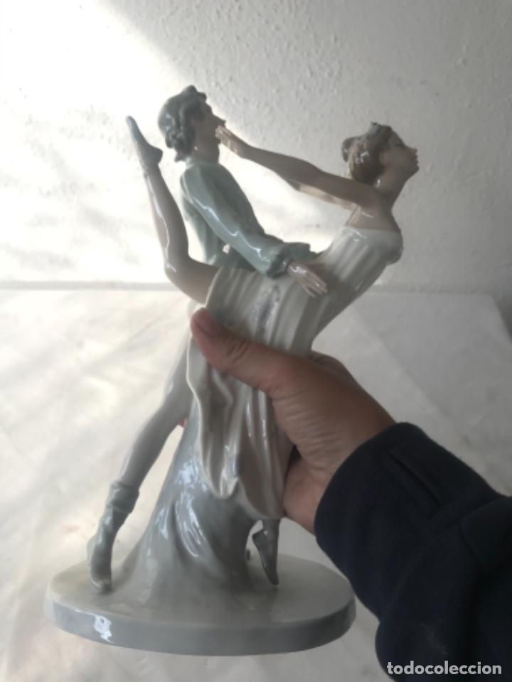 Antigüedades: Pareja de Bailarines Ballet - Porcelana Nao By Lladró, Daisa 1983 - Foto 11 - 257293555
