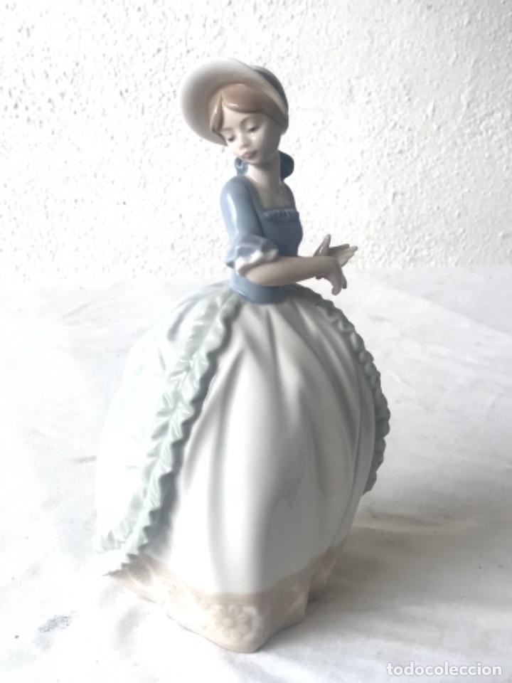 Antigüedades: FIGURA DE PORCELANA NAO DE LA CASA LLADRO. 1985. - Foto 3 - 257296590