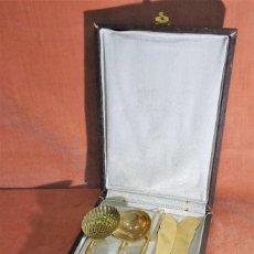Antigüedades: JUEGO DE SERVIR FRANCÉS, S.XIX, PLATA VERMEIL. Lote 257303185