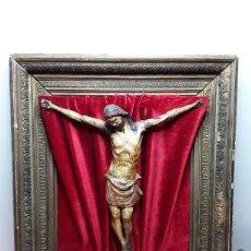 Antigüedades: TALLA DE CRISTO. Lote 257304070
