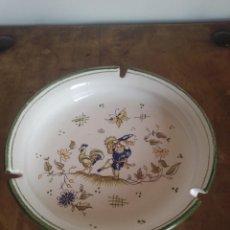 Antigüedades: CENICERO MANISES. CASES CERÁMICAS.. Lote 257315270
