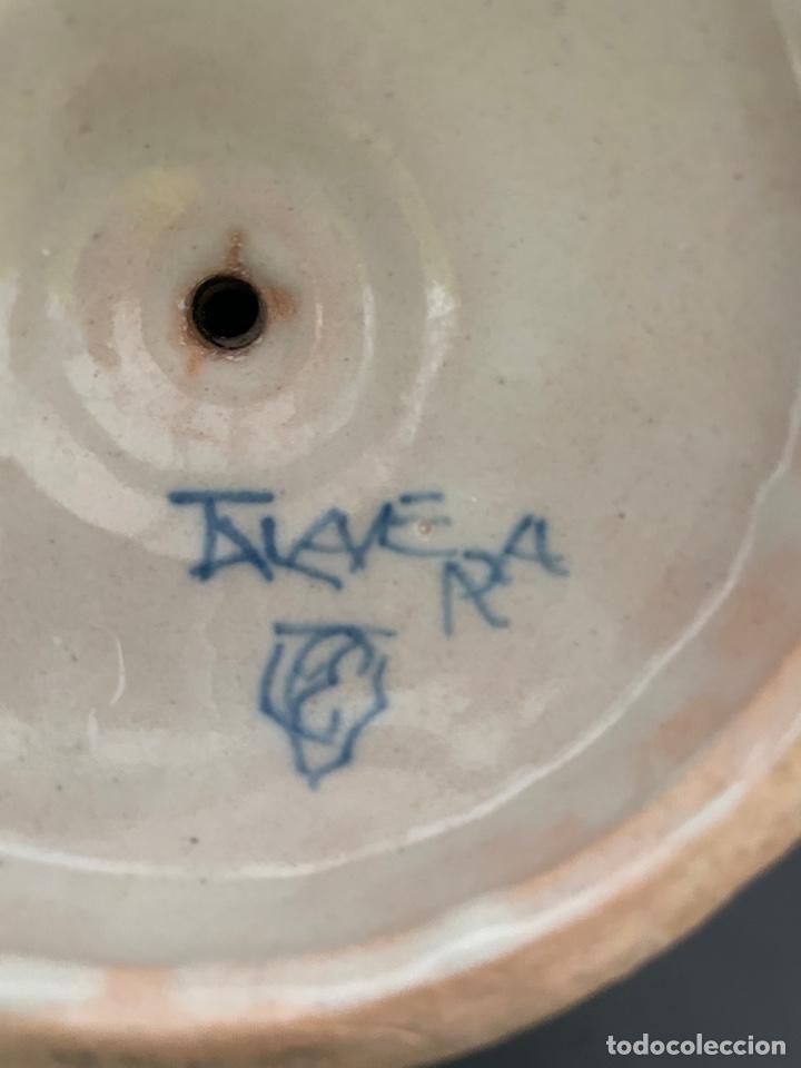 Antigüedades: Botijo antiguo Talavera Ruiz de luna - Foto 4 - 257344050