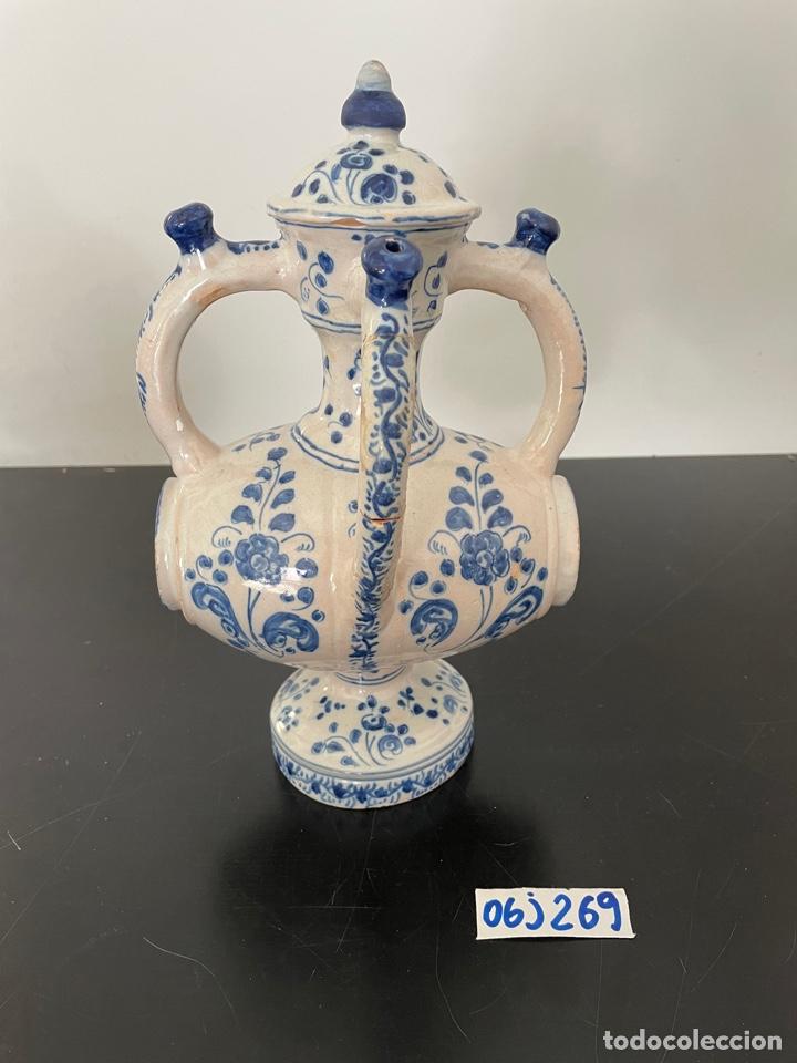 BOTIJO ANTIGUO TALAVERA RUIZ DE LUNA (Antigüedades - Porcelanas y Cerámicas - Talavera)
