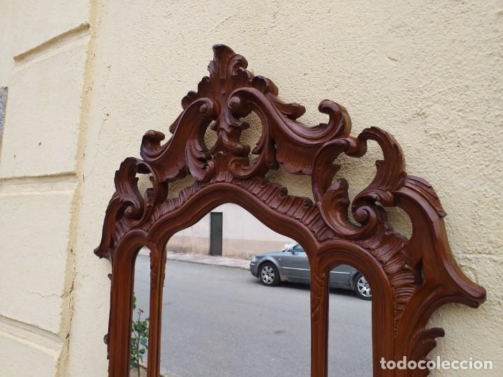 Antigüedades: Espejo antiguo estilo barroco. Espejo antiguo estilo Luis XV. Espejo vintage tríptico. - Foto 3 - 257350290