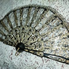 Antiguidades: BELLÍSIMO ABANICO VARILLAJE A LA SULTANA. Lote 257356555