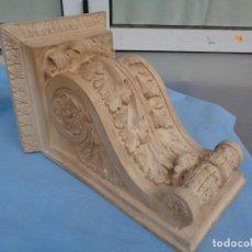 Antigüedades: ANTIGUA MÉNSULA REPISA DE TERRACOTA. Lote 257363235