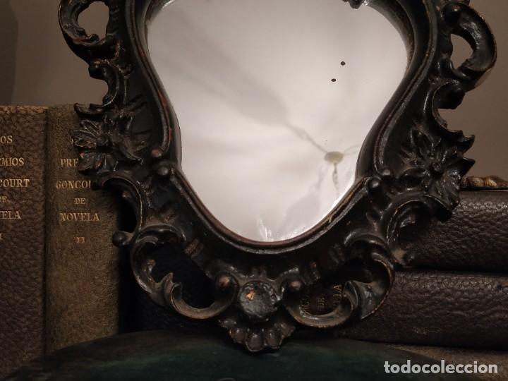 Antigüedades: ANTIGUO ESPEJO. - Foto 3 - 257376010