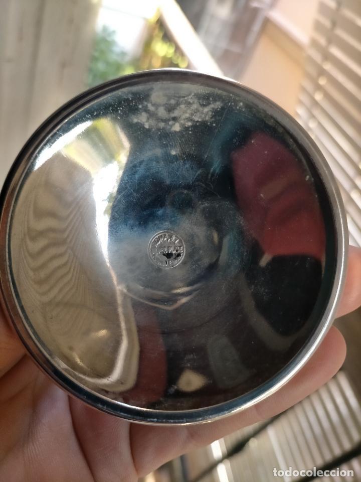 Antigüedades: silver plate roma copon de caliz metal plateado iglesia consagracion pan semana santa decoracion - Foto 13 - 257397630