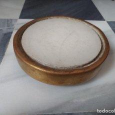 Antigüedades: ANTIGUA PEANA DE PAN DE ORO PARA FANAL. Lote 257467140