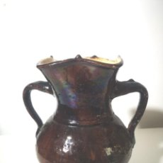 Antigüedades: JARRÓN EN CERÁMICA. Lote 257476765