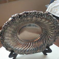 Antigüedades: BANDEJA PLATEADA. Lote 257516245