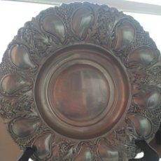 Antigüedades: BANDEJA DE ALPACA. Lote 257520335