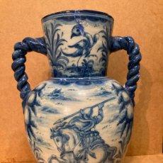 Antigüedades: JARRÓN DE TALAVERA DE RUÍZ DE LUNA. Lote 257548215