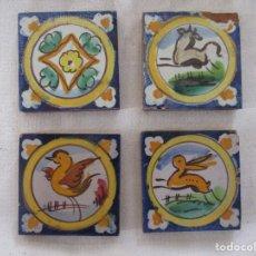 Antigüedades: AZULEJOS OLAMBRILLAS RAMOS REJANO PINTADAS. Lote 257606340