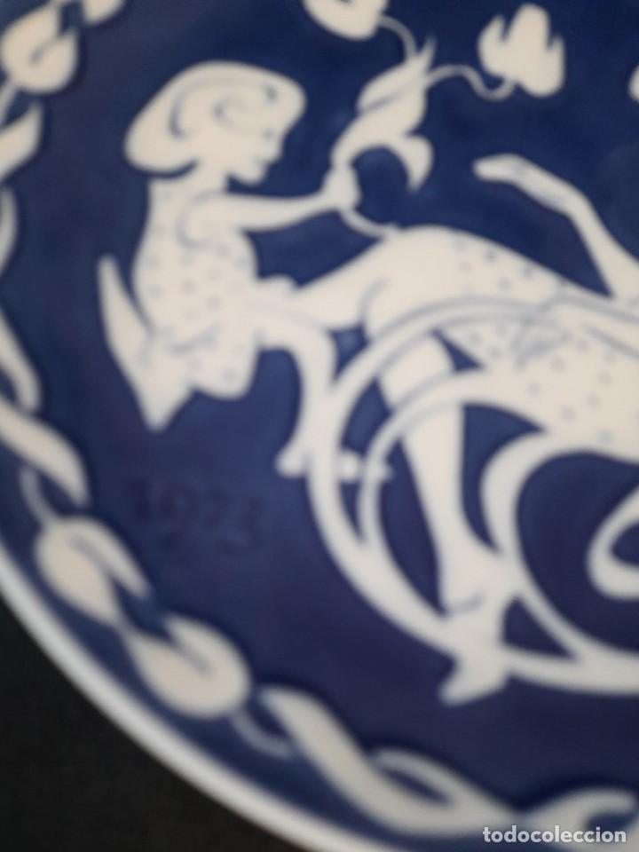 Antigüedades: PLATO DE PORDELANADE LA FIRMA ROYAL COPENAGEN - Foto 3 - 257642205
