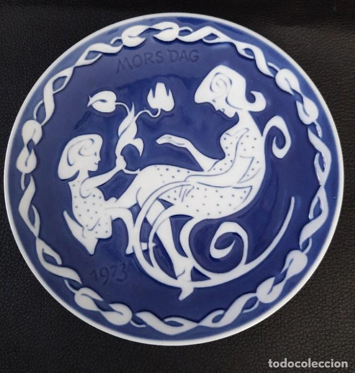 PLATO DE PORDELANADE LA FIRMA ROYAL COPENAGEN (Antigüedades - Porcelana y Cerámica - Alemana - Meissen)