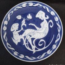 Antigüedades: PLATO DE PORDELANADE LA FIRMA ROYAL COPENAGEN. Lote 257642205