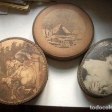 Antigüedades: 3 BOMBONERAS DE ORIGEN HOLANDÉS, ANTIGUAS.. Lote 257685575