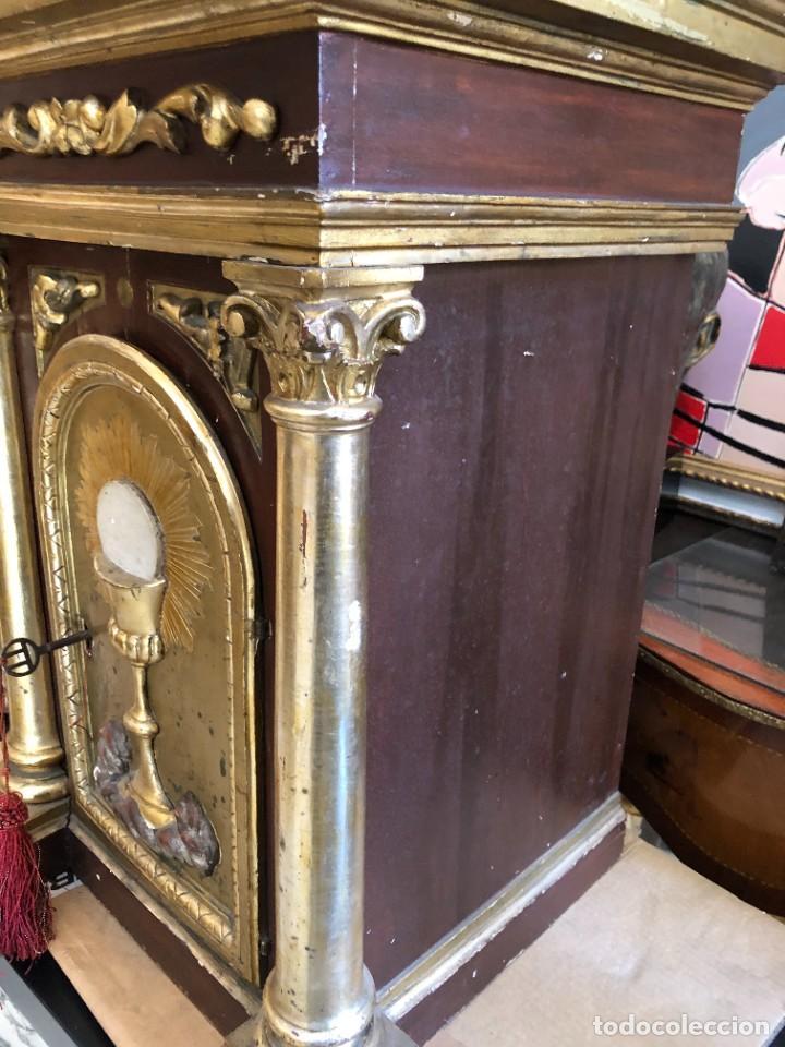 Antigüedades: MAGNFICO SAGRARIO CLASICO, BIEN CONSERVADO - Foto 6 - 257698080