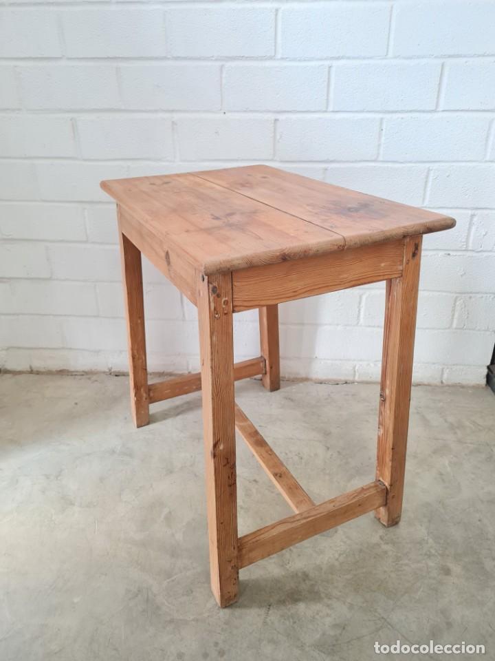 Antigüedades: Pequeña mesa tocinera - Foto 2 - 257704265