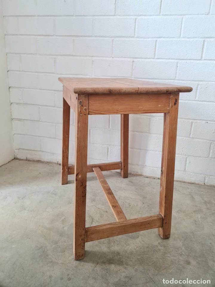Antigüedades: Pequeña mesa tocinera - Foto 3 - 257704265