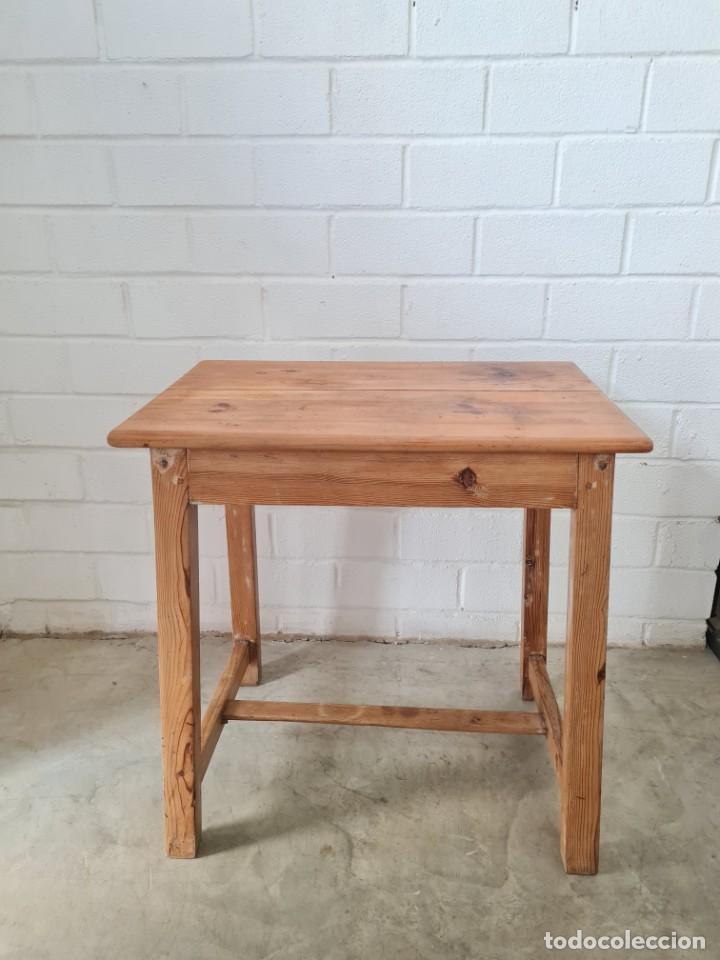 Antigüedades: Pequeña mesa tocinera - Foto 4 - 257704265