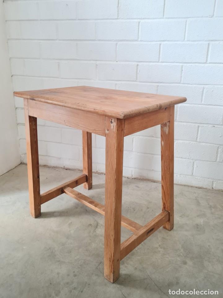 Antigüedades: Pequeña mesa tocinera - Foto 5 - 257704265