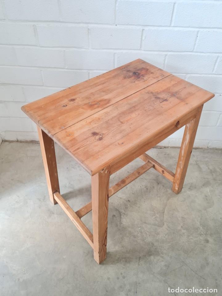 Antigüedades: Pequeña mesa tocinera - Foto 6 - 257704265