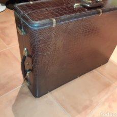 Antigüedades: ANTIGUA MALETA SAMSONITE DENVER COLORADO U.S.A. DE 1950. Lote 257731850