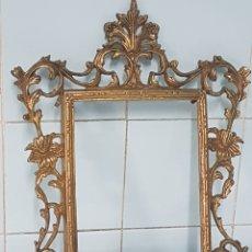 Antigüedades: MARCO DE BRONCE ANTIGUO. Lote 257788670