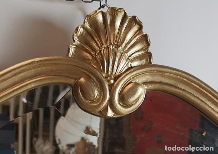 Antigüedades: Espejo con Marco Dorado - Foto 3 - 257813965