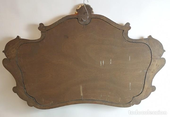 Antigüedades: Espejo con Marco Dorado - Foto 5 - 257813965