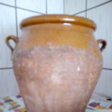 Antigüedades: TINAJA ACEITE, MEDIDAS 24X16. Lote 257823600