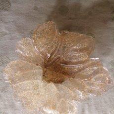 Antigüedades: PLATO EN CRISTAL MURANO, CENTRO DE MESA. Lote 257871760