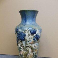 Antigüedades: JARRÓN DE INFLUENCIA CHINA. Lote 257878125