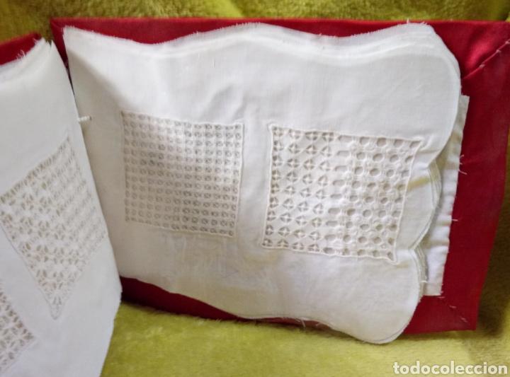 Antigüedades: Álbum muestrario bordados vainicas hecho a mano - Foto 3 - 257927950