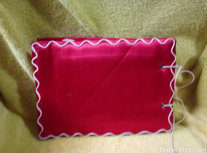 Antigüedades: Álbum muestrario bordados vainicas hecho a mano - Foto 5 - 257927950