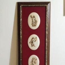 Antigüedades: CUADRO,ART NOVEAU. Lote 258135805