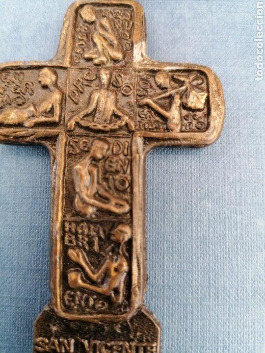 Antigüedades: Cruz San Vicente de Paul - Foto 5 - 271545553