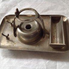 Antiquités: SOPORTE PARA SELLO DE LACRE CON MECHERO.. Lote 258181350