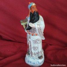 Antigüedades: ANTIGUA FIGURA DE PORCELANA JAPONESA.. Lote 258202565