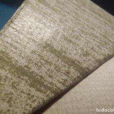 Antigüedades: ANTIGUO ROLLO DE PAPEL PINTADO AÑOS 70´S - 53 CM DE ANCHO - VERDE JASPEADO - COMPLETO - REF. 802. Lote 258240920