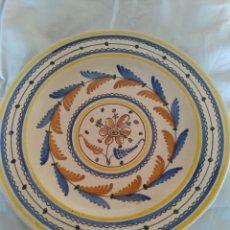 Antigüedades: PLATO DE COLGAR FANG I FOC. Lote 258497075