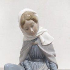 Antigüedades: VIRGEN MARÍA DE NAO/LLADRÓ. PERFECTO ESTADO.. Lote 258499060