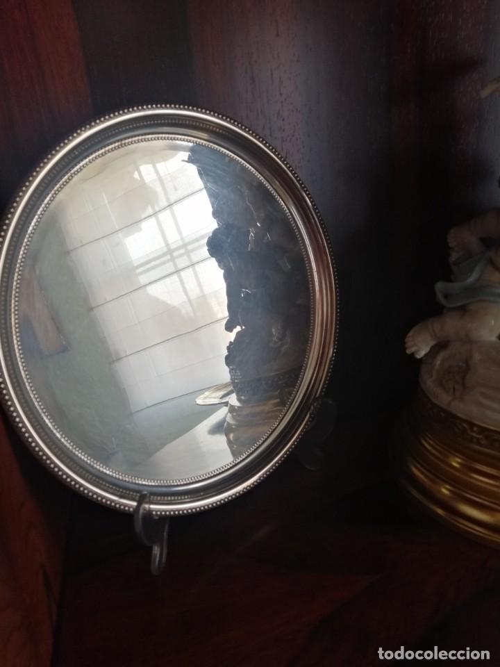 BANDEJA PLATA MENESES (Antigüedades - Platería - Bañado en Plata Antiguo)