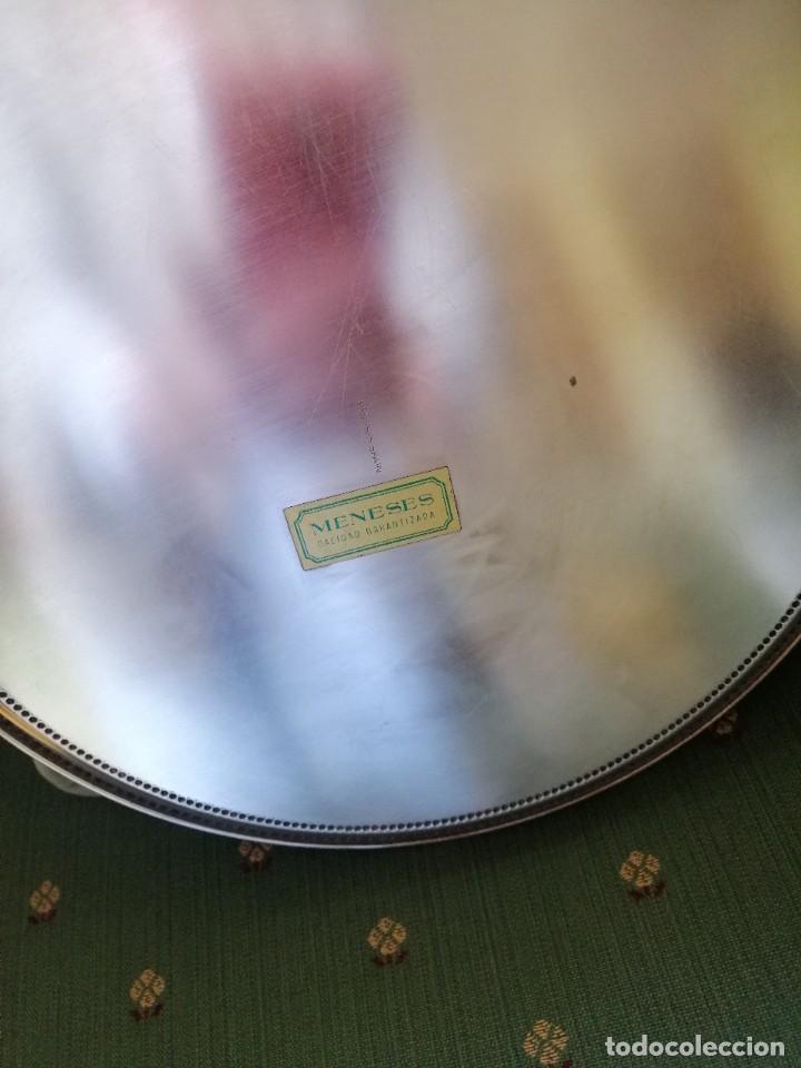Antigüedades: Bandeja plata Meneses - Foto 2 - 258509815