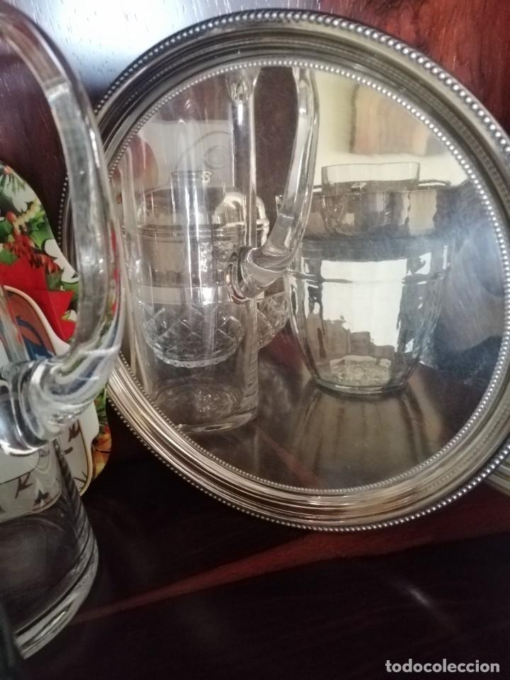 Antigüedades: Bandeja plata Meneses - Foto 3 - 258509815
