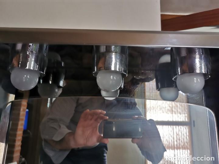 Antigüedades: Mueble de baño metálico marca metalkris. Años 70.practicamente nuevo - Foto 8 - 258548560