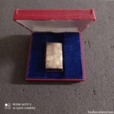 Antigüedades: LINGOTE DE PLATA - 100 GRAMOS. Lote 258776745